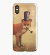 Crazy Like a Fox iPhone Case/Skin