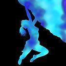 bouldering ecstacy (blue) by mindgoop