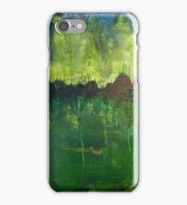 Green psycho iPhone Case/Skin