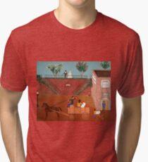 Savannah Georgia 1817 Tri-blend T-Shirt