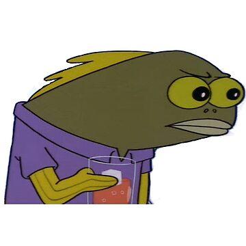 Spongebob Fish Meme by auroraflorealis