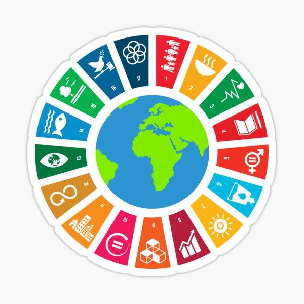 UN SDGs | UN Global Goals Logo | United Nations Sustainable Development Goals 2030 Sticker