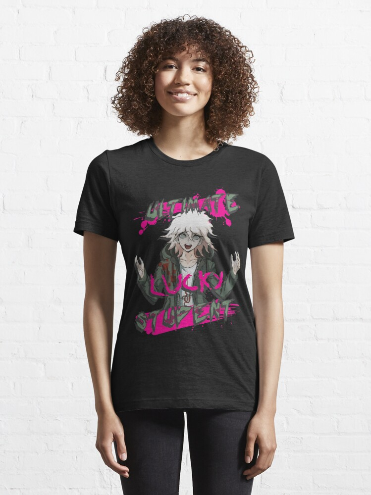 Alternate view of Nagito Komaeda - The Ultimate Lucky Student  Essential T-Shirt