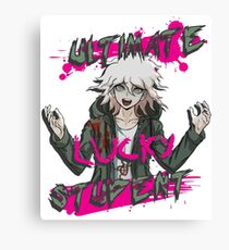 Nagito Komaeda - The Ultimate Lucky Student  Canvas Print
