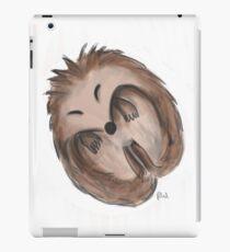 Sleeping hedgehog iPad Case/Skin