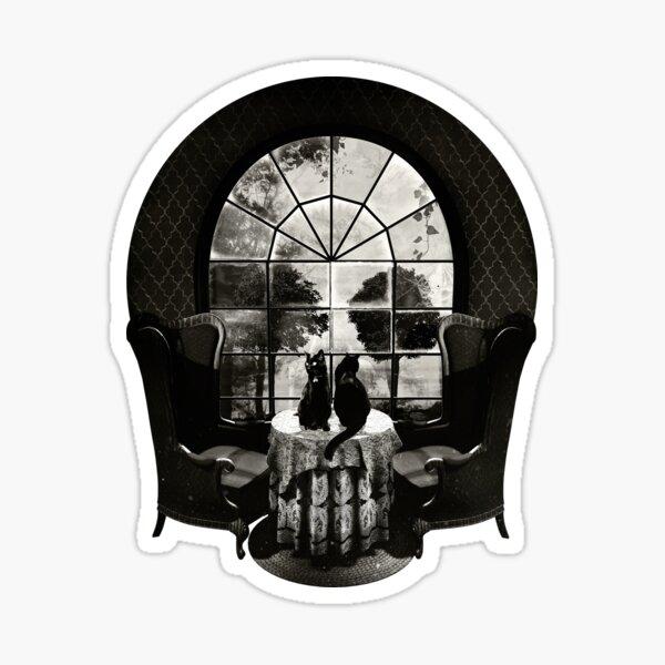 Room Skull Sticker