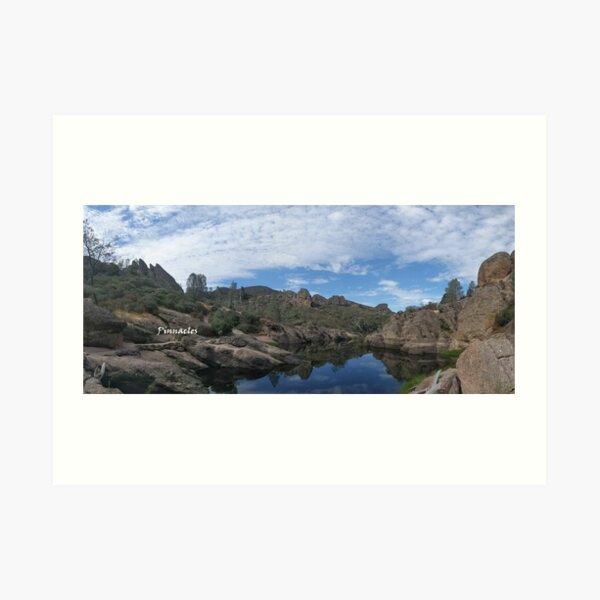 Pinnacles National Park - Bear Gulch Reservoir Art Print
