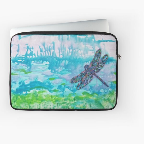 Dragonfly by Harriette Knight Laptop Sleeve