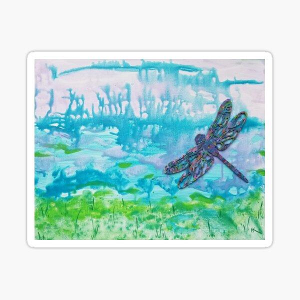 Dragonfly by Harriette Knight Sticker