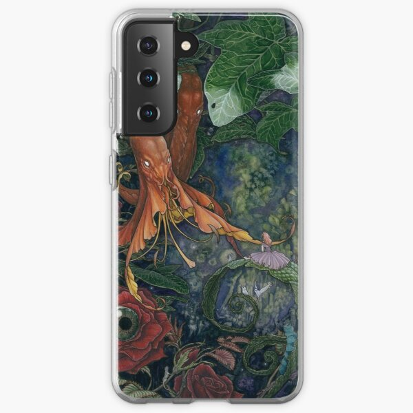 Alice and the flowers Samsung Galaxy Soft Case