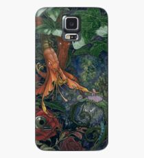 Alice and the flowers Case/Skin for Samsung Galaxy