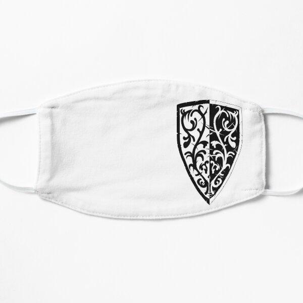 Grass Crest Shield Flat Mask