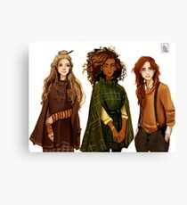 Witch Gang Canvas Print