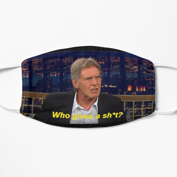Harrison Ford: Who gives a sh*t? Flat Mask
