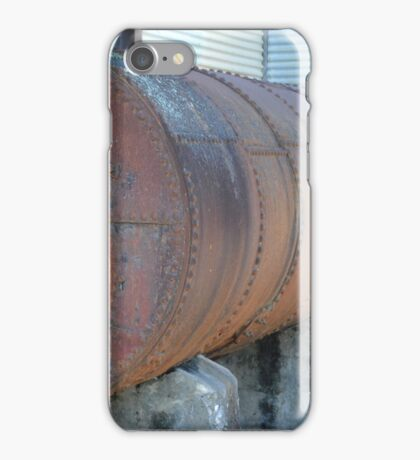 Old Industrial Tank iPhone Case/Skin