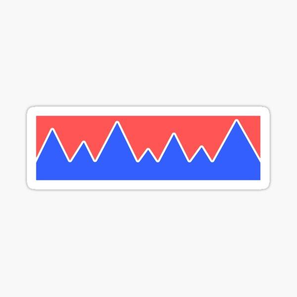 Mountains Landscape Sticker