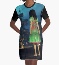 Siren Song - AMR Graphic T-Shirt Dress