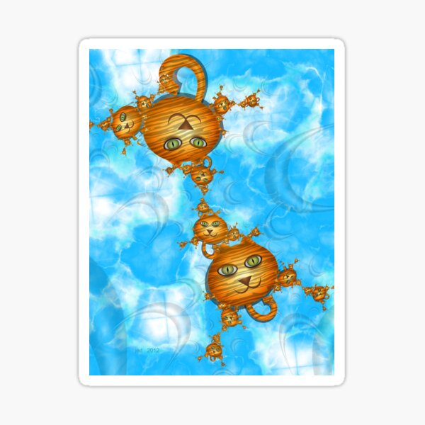 Inner Child - Little Tigers in the Sky Sticker