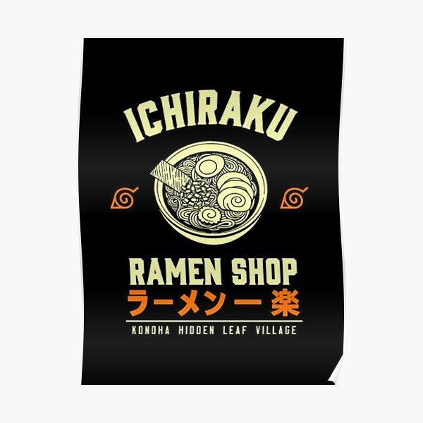Ichiraku Ramen Shop Poster