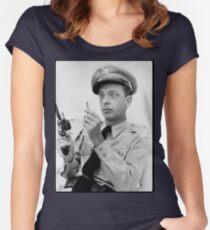 Gun Crazy Barney Women's Fitted Scoop T-Shirt