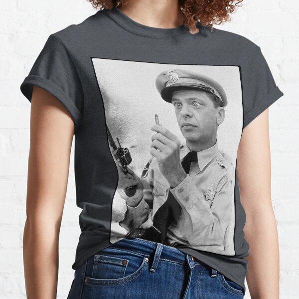 Gun Crazy Barney Camiseta clásica
