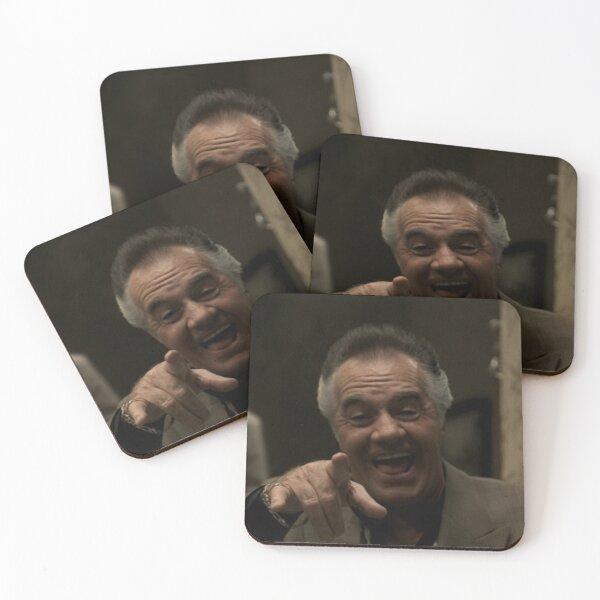 Paulie Fake Laugh Coasters (Set of 4)
