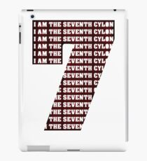 The Seventh Cylon (Now Angry Cylon Red!) iPad Case/Skin