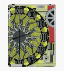 TIME IS AN ILLUSION 1 iPad Case/Skin