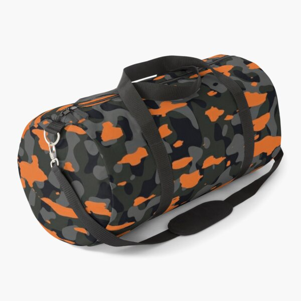 Camouflage orange Duffle Bag