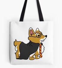 Corgi Potter Tote Bag