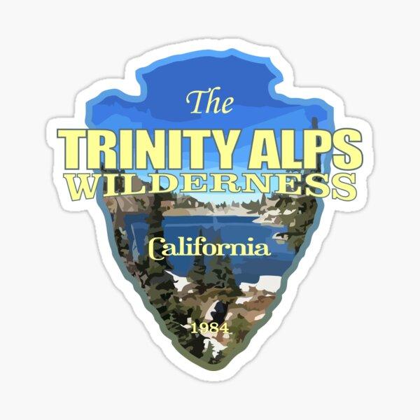 Trinity Alps Wilderness (arrowhead) Sticker
