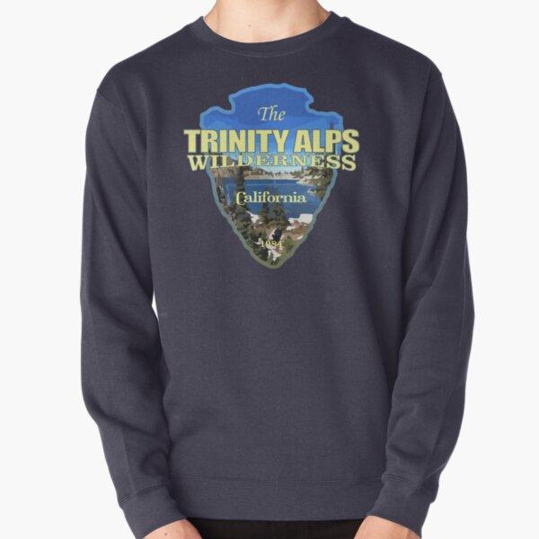 Trinity Alps Wilderness (arrowhead) Pullover Sweatshirt
