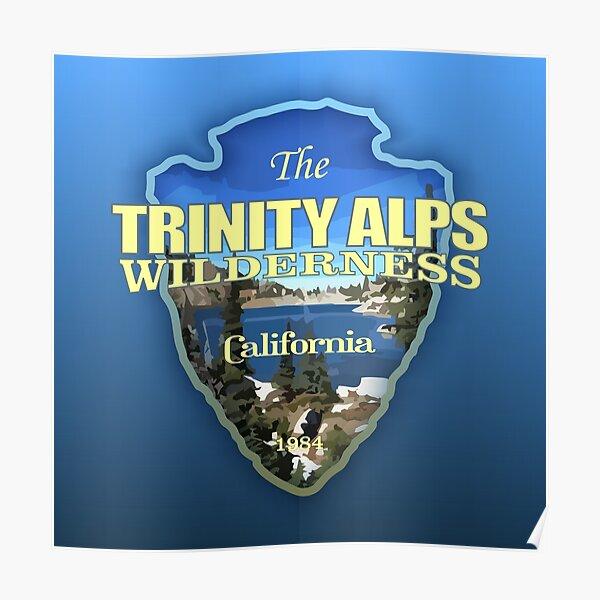 Trinity Alps Wilderness (arrowhead) Poster