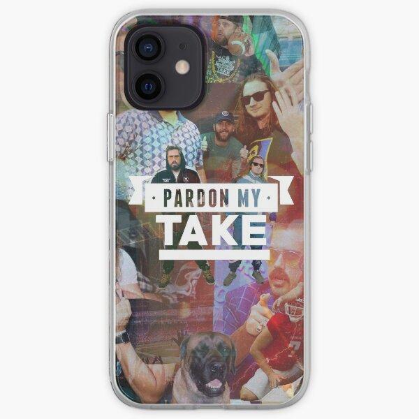 pardon my take collage iPhone Soft Case