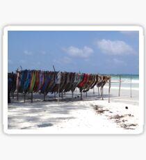Kenyan African beach colour Sticker
