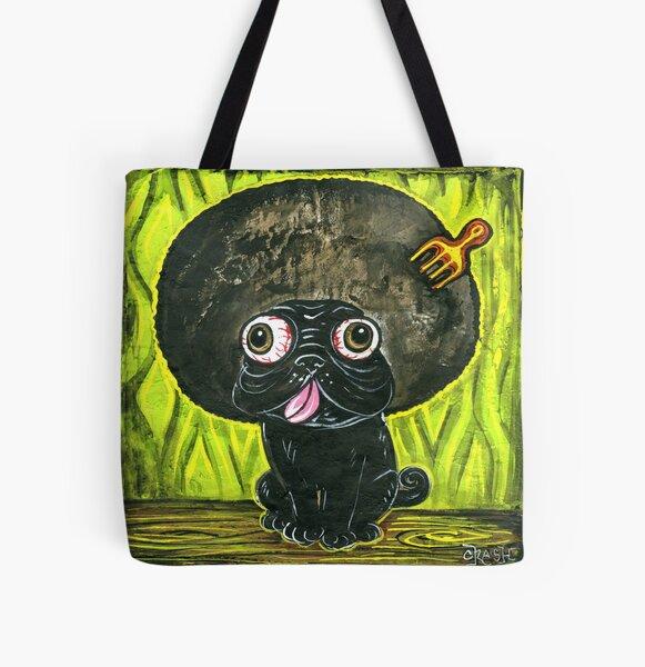 Pug Soul All Over Print Tote Bag
