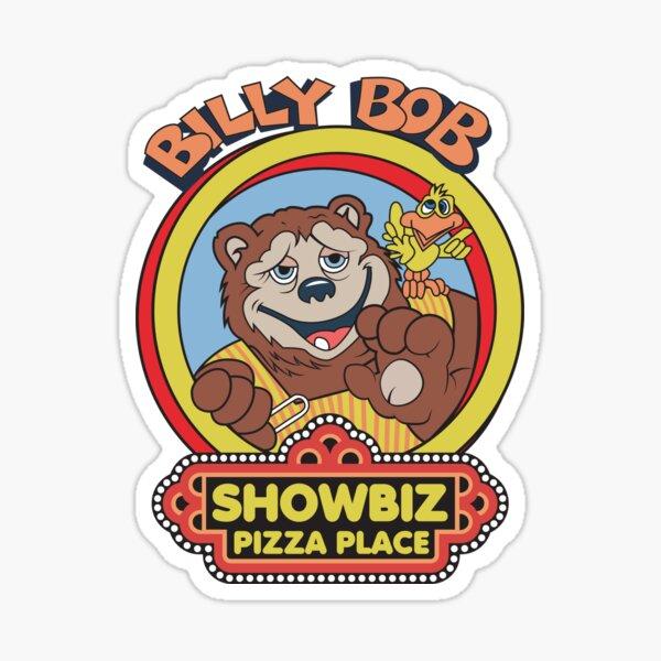 Showbiz Pizza Billy Bob Sticker