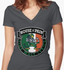 House of Pain The Fighting Irish Women's Fitted V-Neck T-Shirt