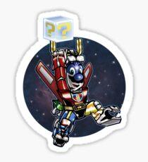 Super Retro Bro! Sticker
