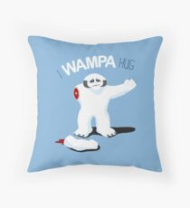 I Wampa Hug. Throw Pillow