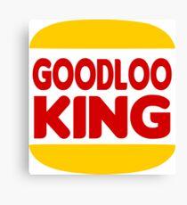 Good Looking: Vintage Burger King Parody Canvas Print