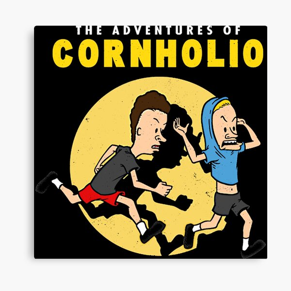 T-shirt Les Aventures de Cornholio Impression sur toile