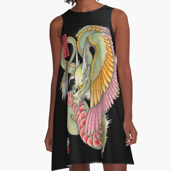 wing dragon  A-Line Dress