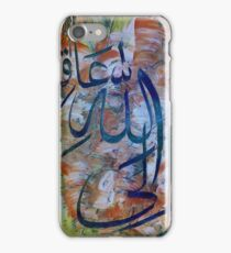 Art calligraphy oil on paper 100 US$ iPhone Case/Skin