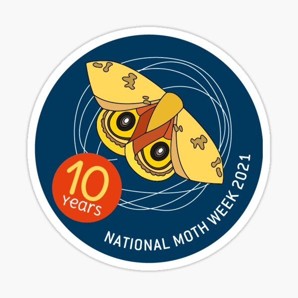 National Moth Week 2021 Sticker