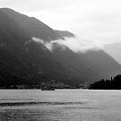 Low Cloud over Lake Como by Karen E Camilleri
