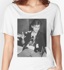 Young 80s Christian Slater  Women's Relaxed Fit T-Shirt