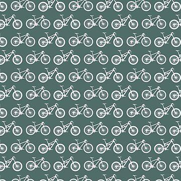 Mountain Bike Pattern by chromedreaming
