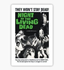 Night of the Living Dead Sticker