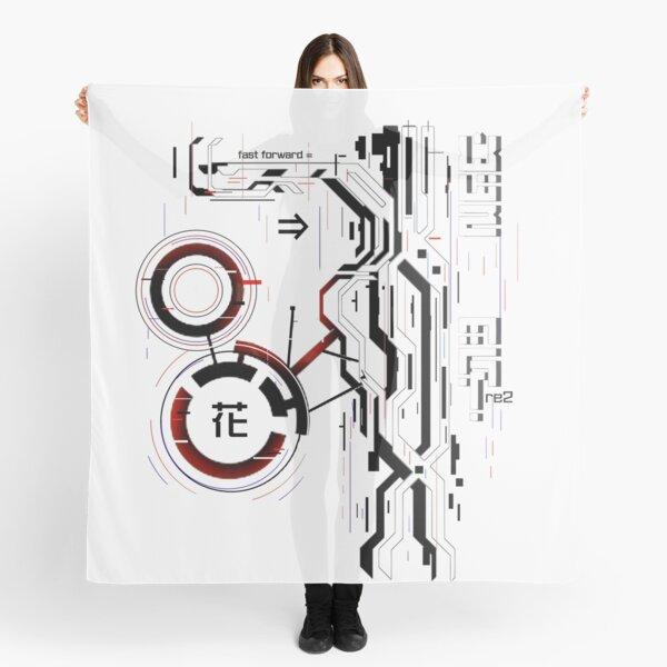 Cybernetic flower // techwear  Scarf